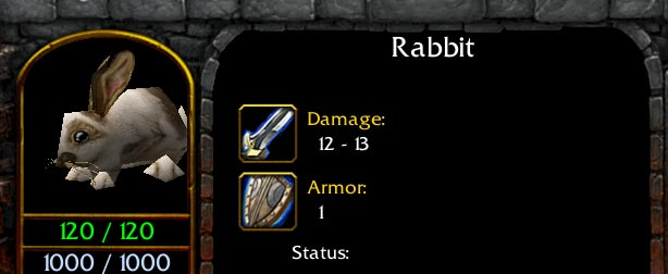 Warcraft 3 Rabbit