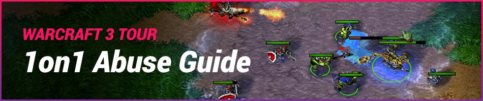 Warcraft 3 1on1 Abuse Guide