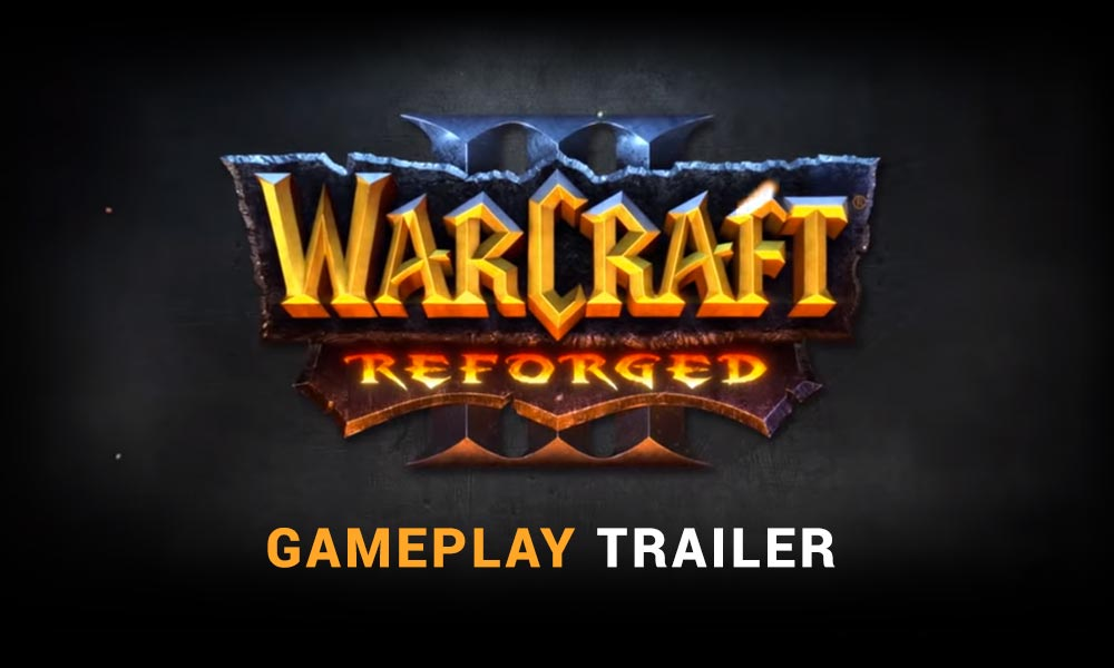 Warcraft 3 Reforged Gameplay Trailer