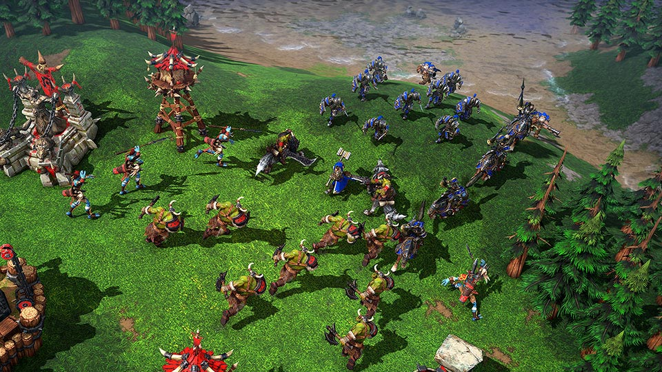 Warcraft 3 Remastered Gameplay Screenshot