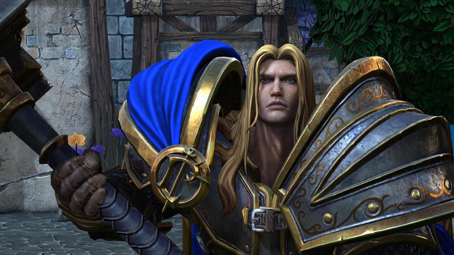 Warcraft 3 Reforged Arthas Screenshot Hero Model