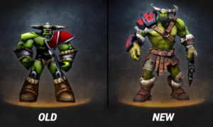 Warcraft 3 and Reforged Graphic Comparison (UNITS + HEROS)