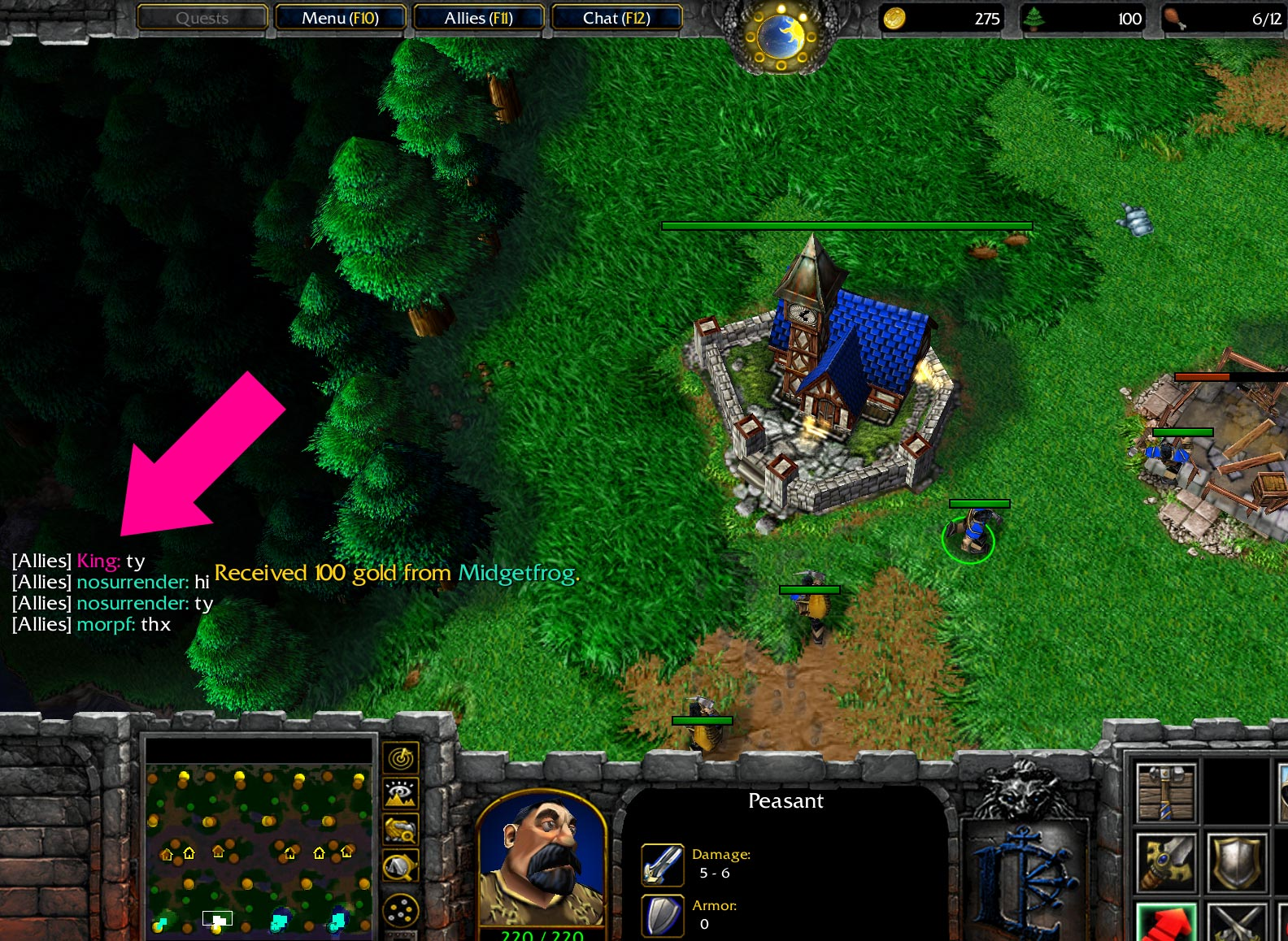 Warcraft 3 Random Team Screenshot