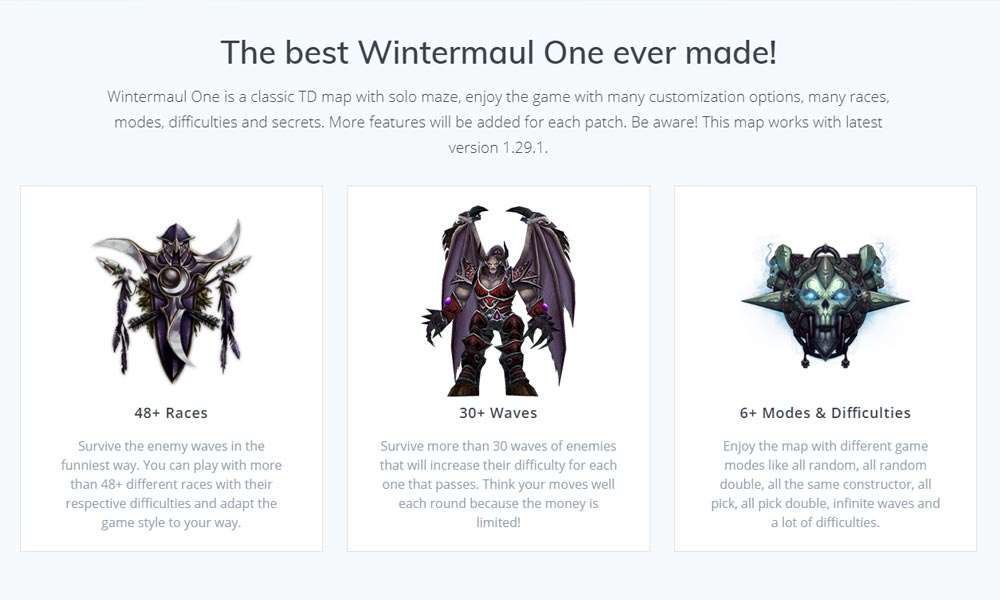 Game Features Wintermaul One