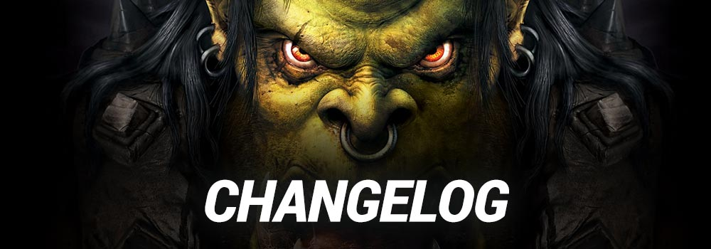 WC3 Changelog 1.31 Competitive