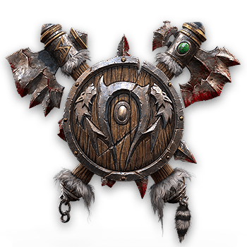 WC3 Reforged Orc Logo