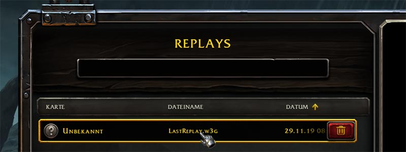 Warcraft 3 Reforged Replays