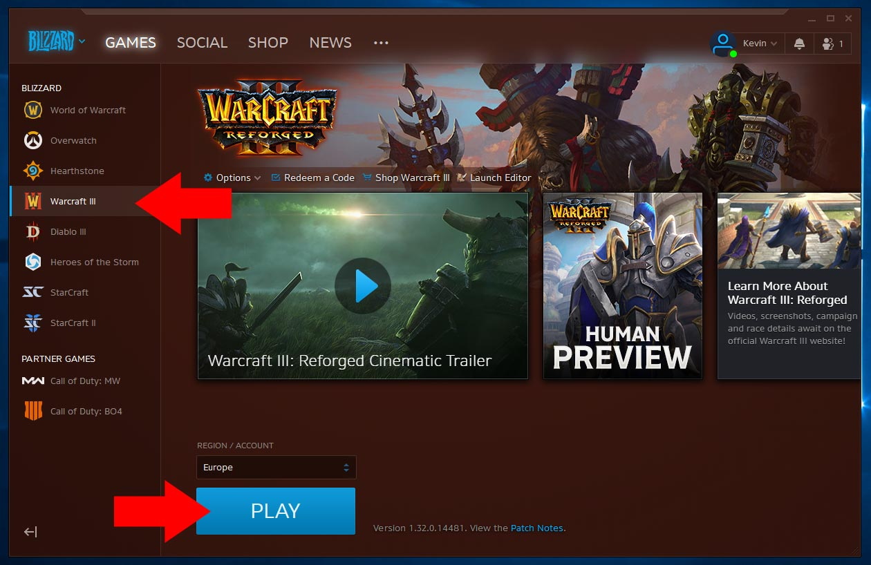 How to install Warcraft 3 Reforged Patch