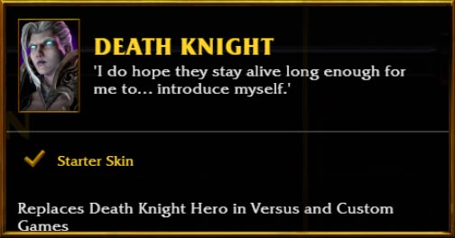 Warcraft 3 Reforged Skin Female Death Knight How To Get