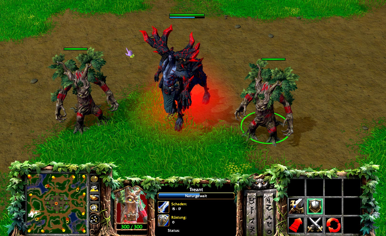 Warcraft 3 Reforged Keeper of the Grove Cenarius Skin