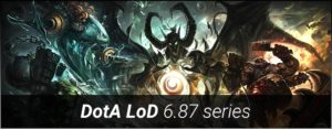 Legends of Dota 6.87 series (6.87d6) Map Download