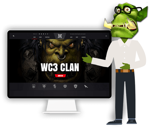 How to create a Warcraft Clan Website