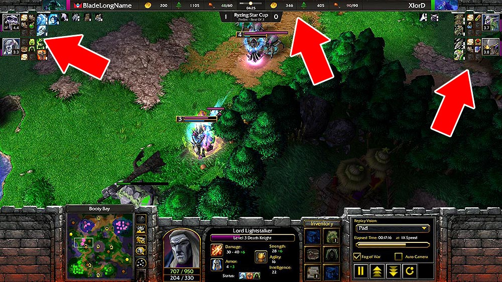 Twitch Stream Overlay for Warcraft 3 Reforged