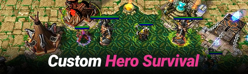 Warcraft 3 Custom Hero Survival