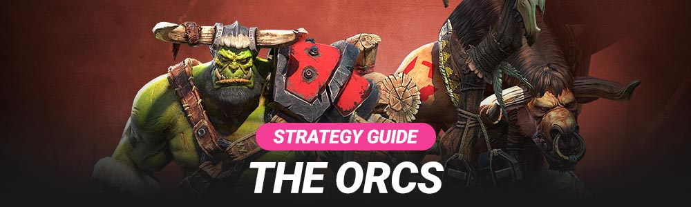 The Warcraft 3 Reforged Orc Race Strategy All Units