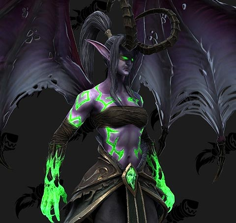 New Graphic Model WC3 Demon Hunter