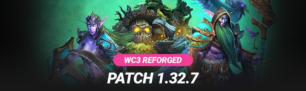 Warcraft 3 Reforged Patch 1.32..7