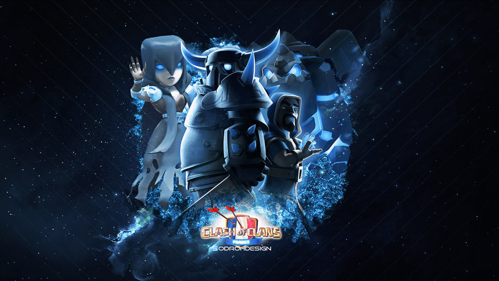 clash-of-clans-blue-wallpaper