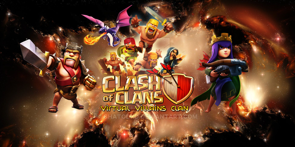 Clash of clans wallpaper heroes units city wallpaper and coc artwork units and heroes stopboris Images
