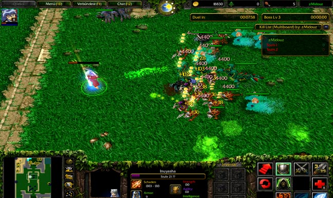 Warcraft 3 General Map Screenshot