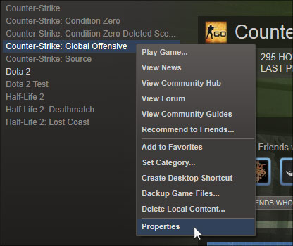 How to install the CS GO Console