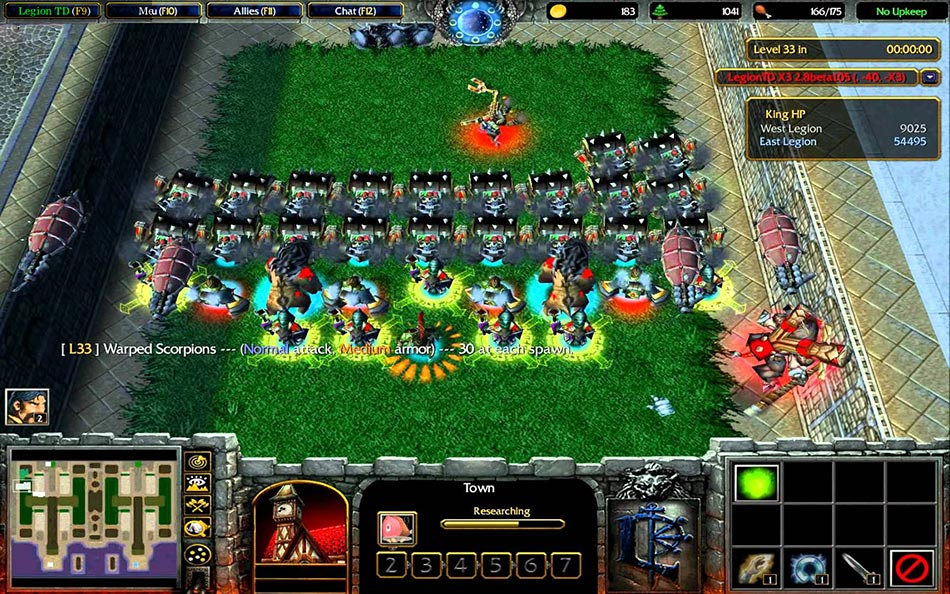 Legion TD for Warcraft 3 ++ Free Map Download ++ Tower Defense