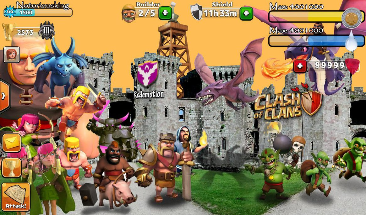 notorious-king-clash-of-clans-barbarian