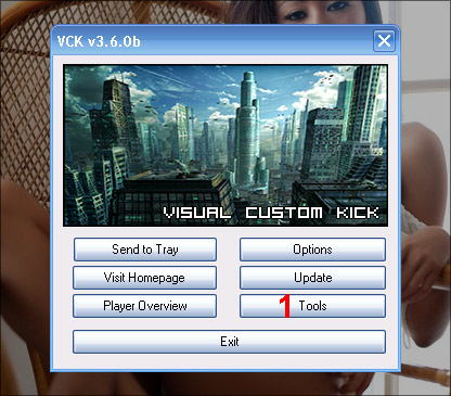 Visual Custom Kick Tool