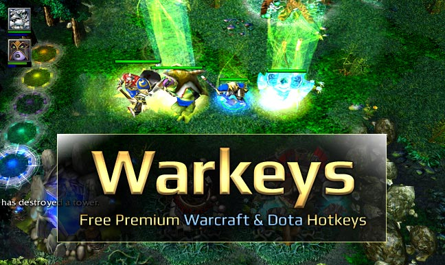 Warkeys for perfect Wc3 hotkey settings
