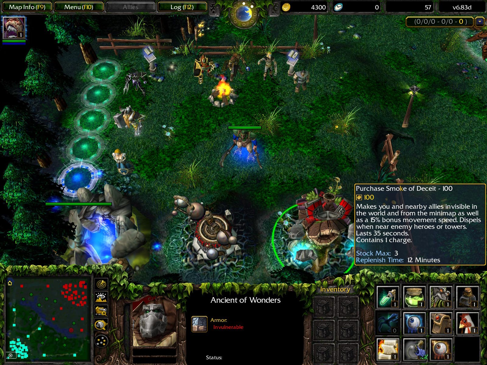 Dota Allstars 6.83d Screenshot