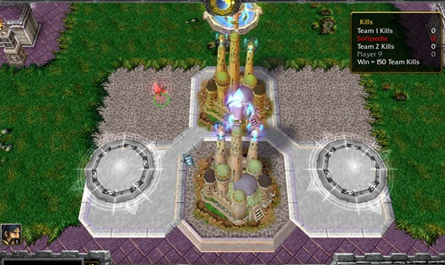 Warcraft 3 Angel Arena Screenshot