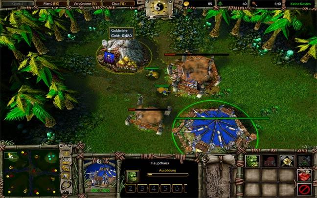Warcraft 3 Dota Panda Mod with custom MPQ and terrain
