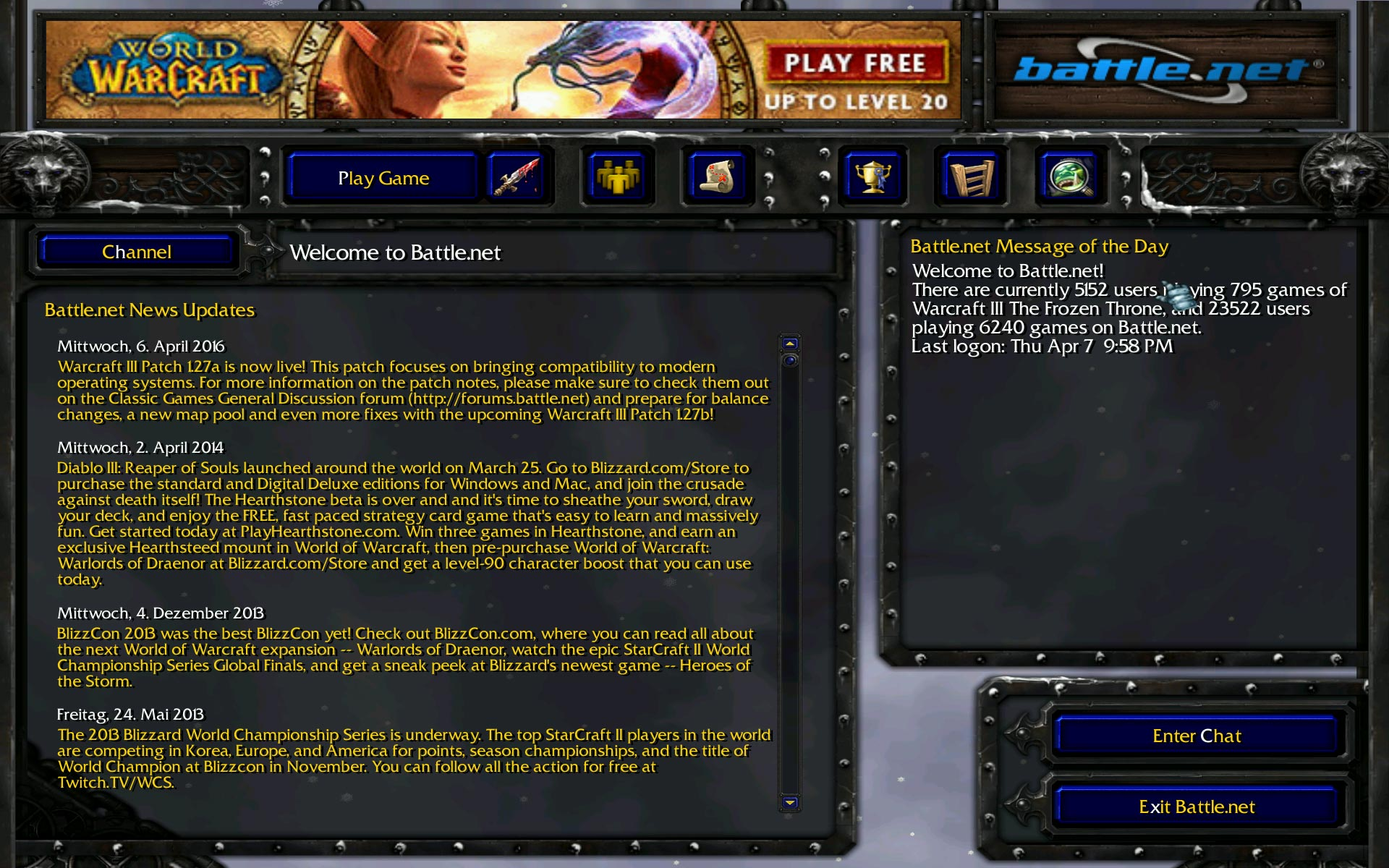 warcraft-3-the-frozen-throne-ingame-welcome-news-screenshot