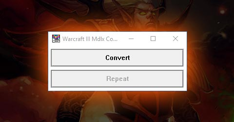 MDLX Converter Tool for Warcraft 3