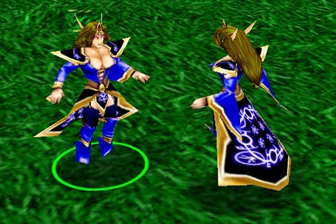 Warcraft 3 Unit Model MDL file