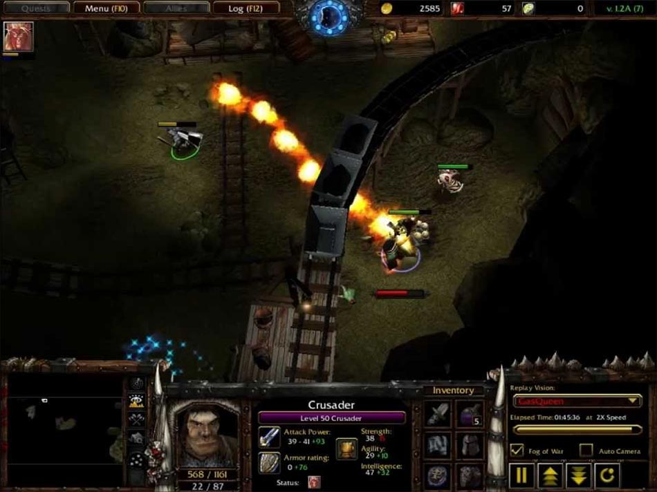 Boss Fight Warcraft 3 Gaia ORPG