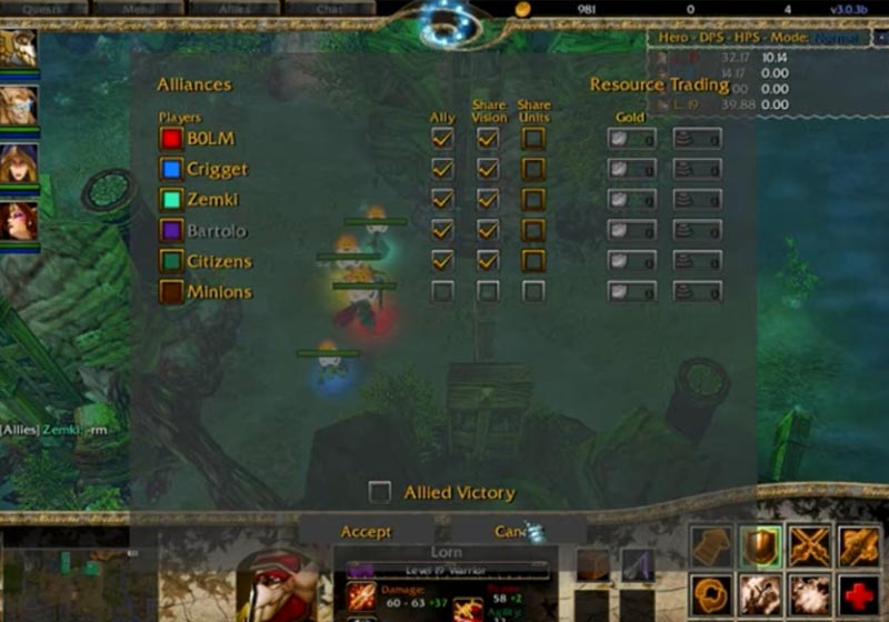 Warcraft 3 Kingdom of Kaliron RPG