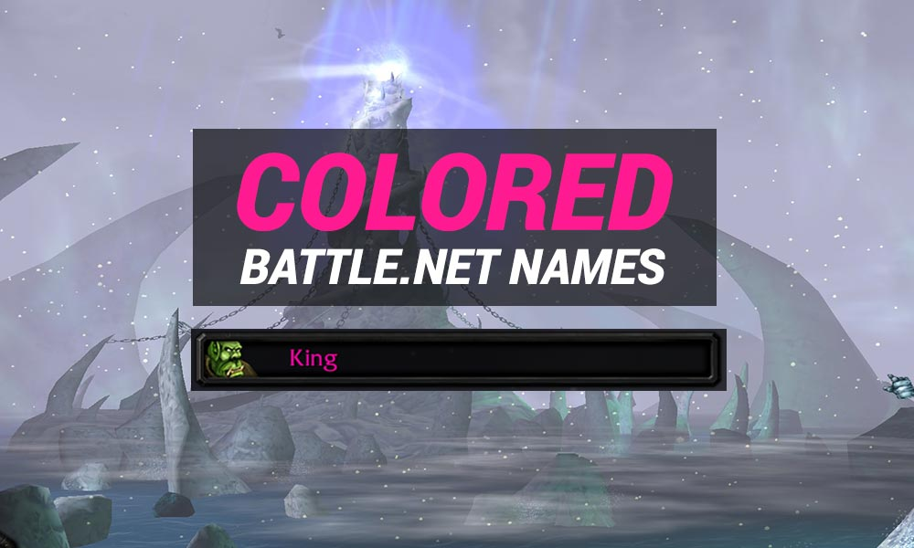 Warcraft 3 Colored Battle.net Names