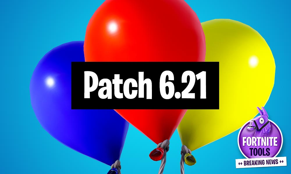 Fortnite Patchnotes 6.21 Balloons Update and Fall Damage